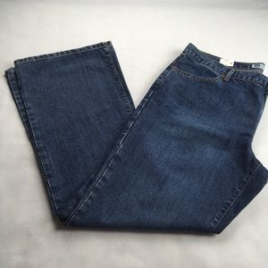 NWT GAP Low Rise Flare Jeans Size 16